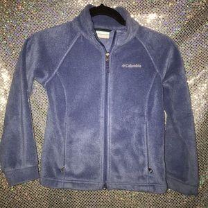 Columbia kids purple sweater size 7/8
